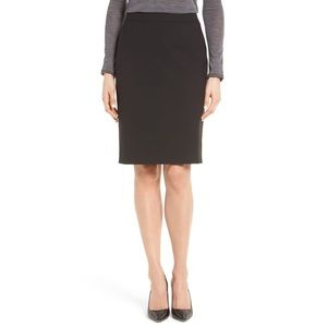 Hugo Boss Veronice Career Pencil Skirt Black